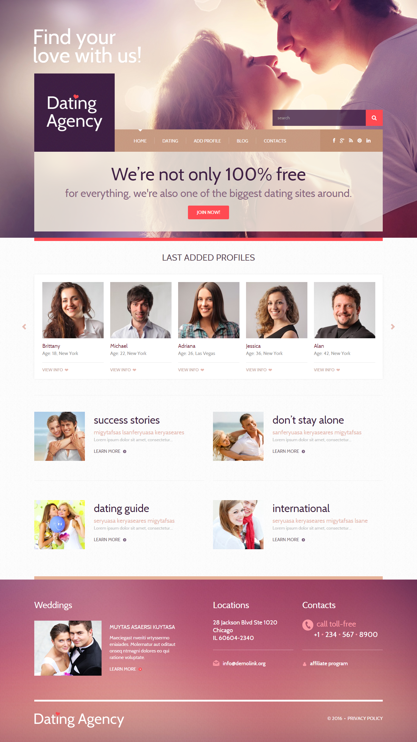 online dating free messaging