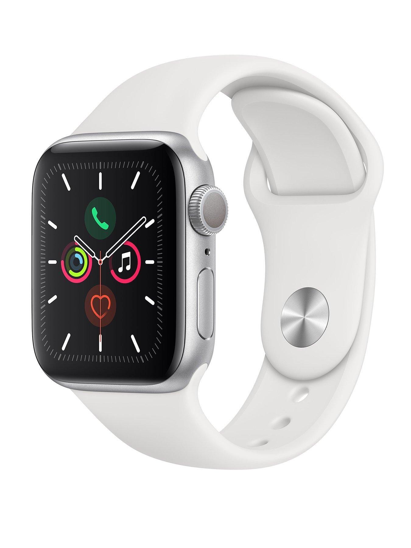 Apple Watch Series 5 (Gps), 40Mm Silver Aluminium Case