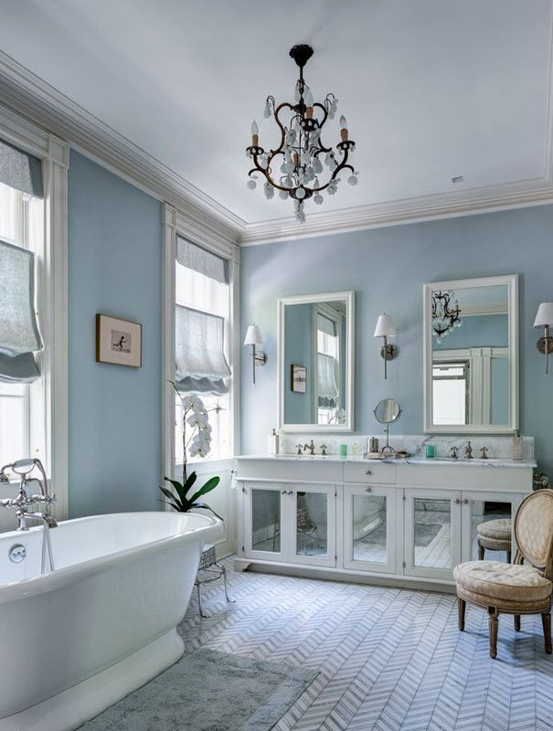 Perfect 37 Light Blue Bathroom Floor Tiles Ideas And Pictures More Nice Ideas