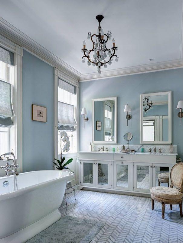 37 Light Blue Bathroom Floor Tiles Ideas And Pictures White Master Bathroom White Bathroom Designs