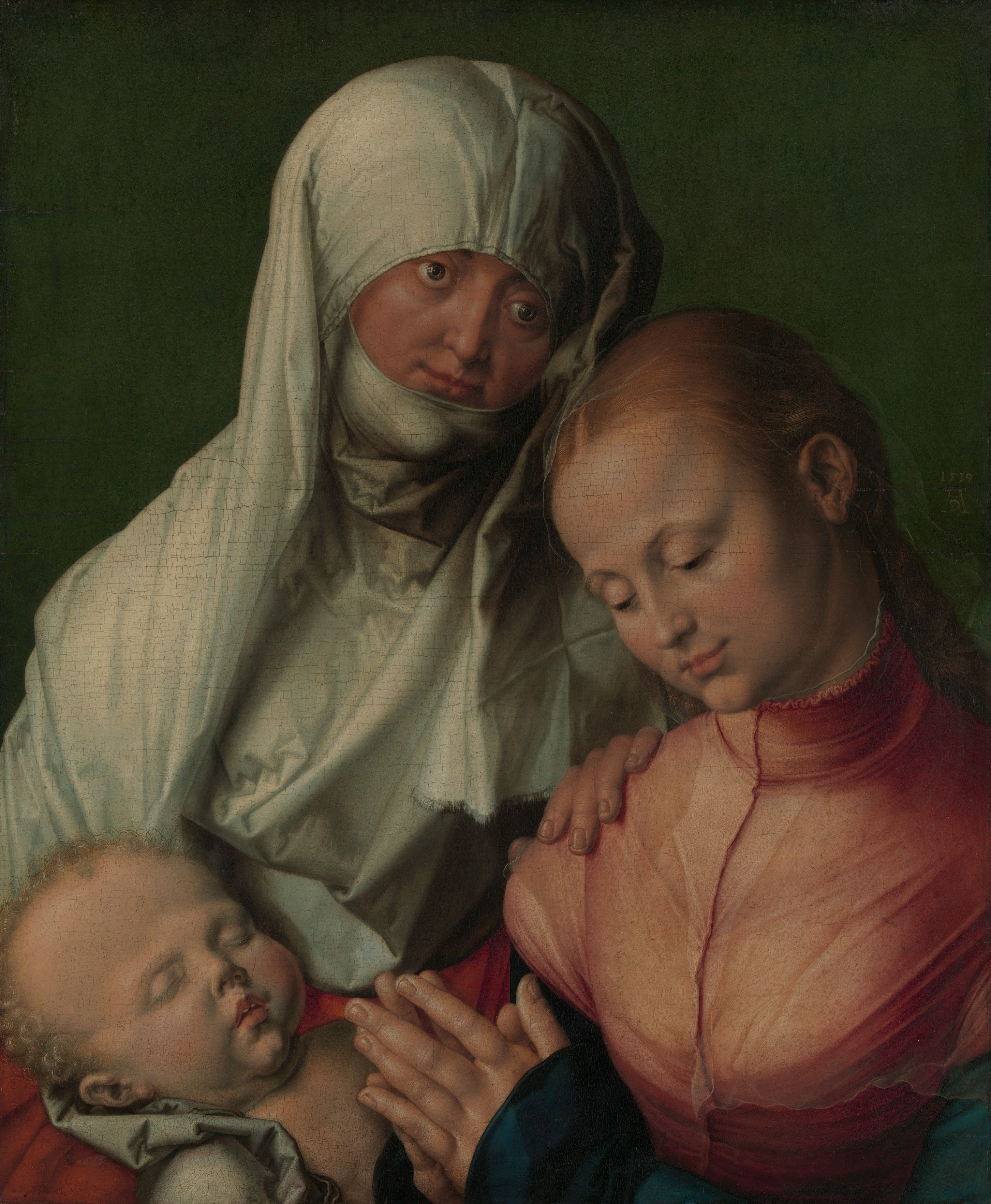 Albrecht durer · Bakire ve Çocuk ile Azize Anne 0ead28b45174