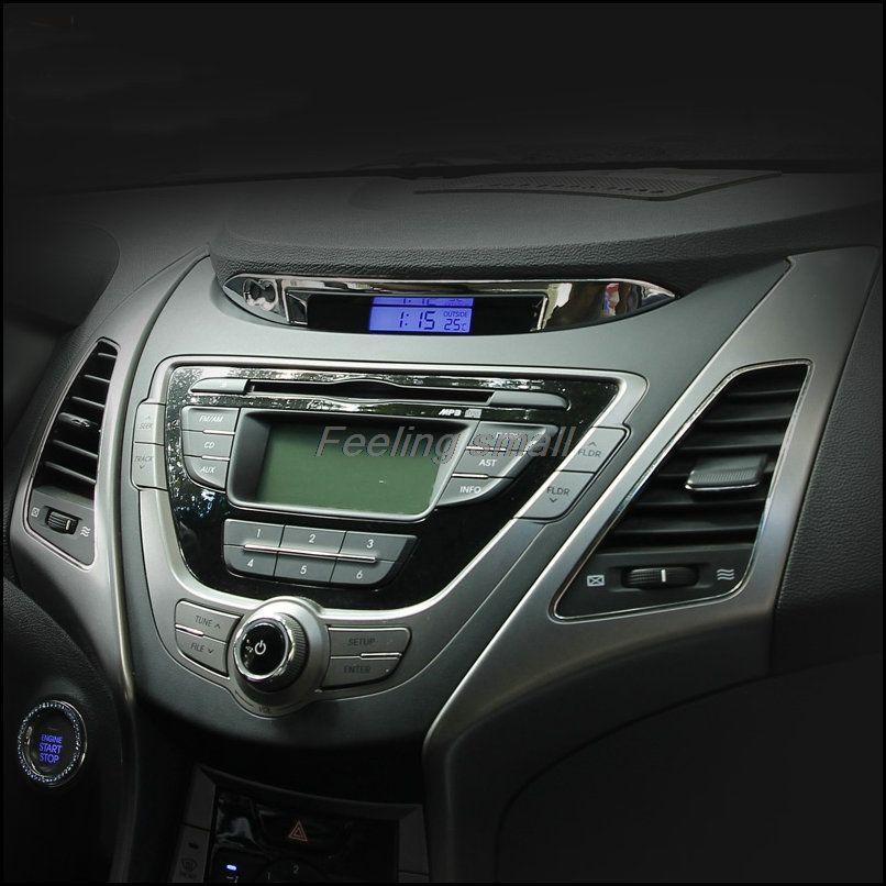 Free Shipping Abs Dashboard Trim Automotive Supplies For Hyundai Elantra 2012 2013 2014 Hyundai Elantra Elantra 2012 Elantra