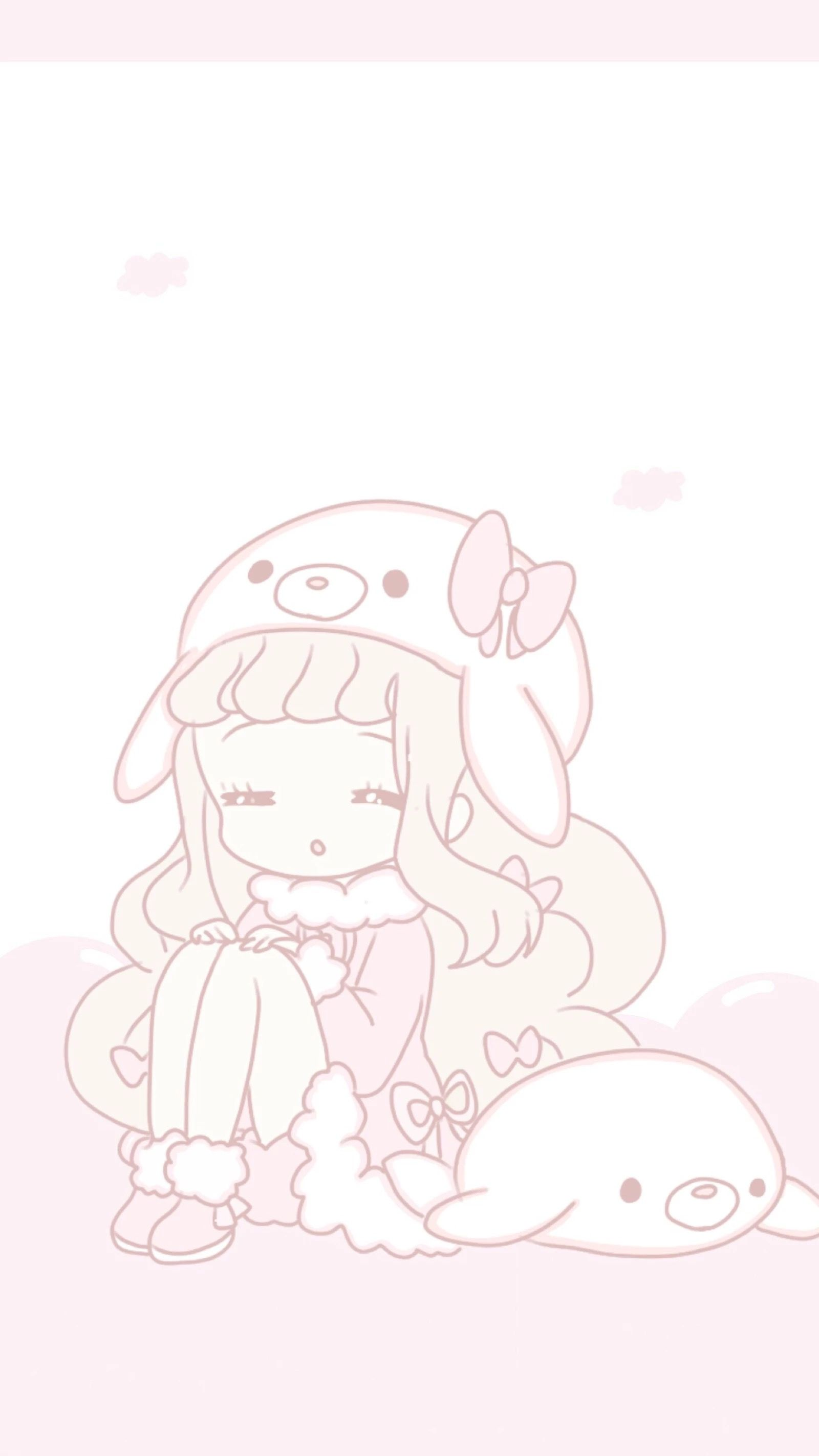 ᎥᏢhσnє Ꮃαllpαpєrѕ Kawaii drawings, Kawaii art, Anime art