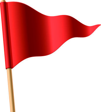 Red Flag Icon Clipart #1 | Flag icon, Red flag, Clip art