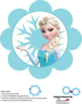 Banner Party Decorations Frozen Printables Frozen Themed Birthday Party Frozen Party