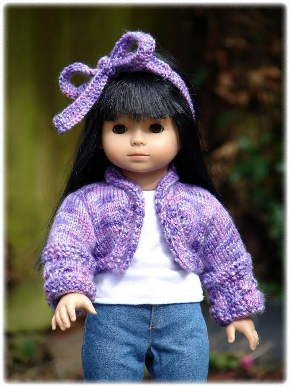 Knitting pattern: Kimana ~ for American Girl Dolls on craftsy.com