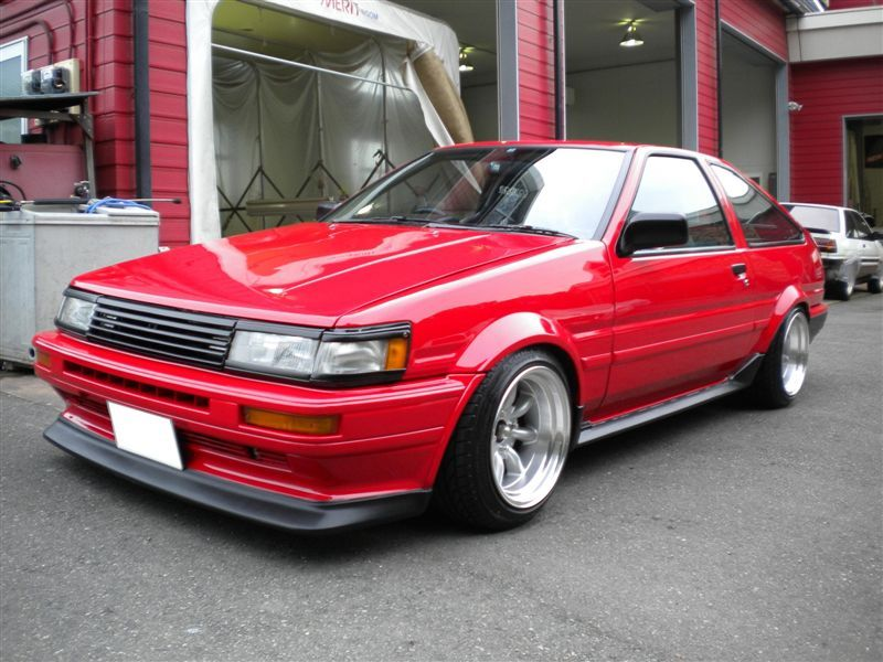Another Fine Looking AE86, Considering They Are Around 30 Years Old They  Can Still Look