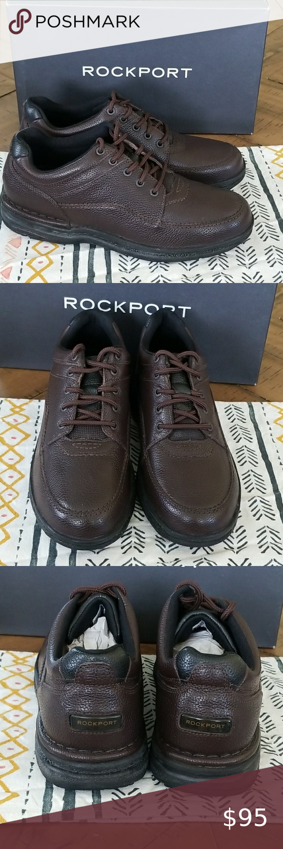 Rockport Ladies Nude Lace Up Leather Trainers Derby Shoes Womens New UK Size 6