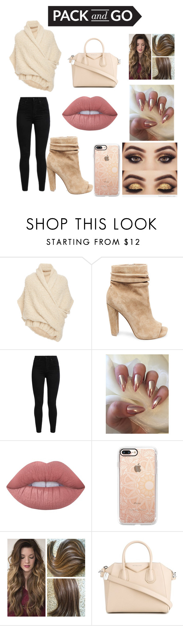 """I'm Ready!"" by divafashiononly ❤ liked on Polyvore featuring Tuinch, Steve Madden, Levi's, Lime Crime, Casetify and Givenchy"