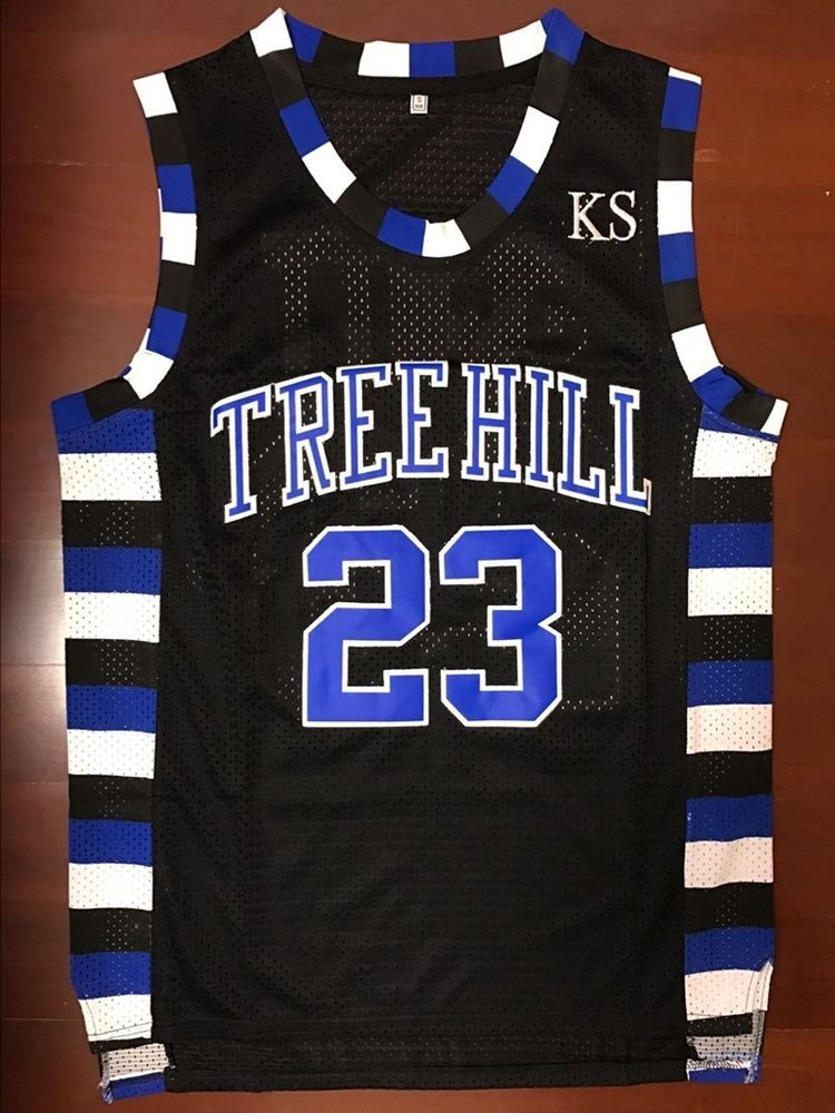 One Tree Hill Nathan Scott #23 Ravens Black Basketball ...