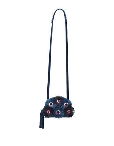LOEFFLER RANDALL Loeffler RandallFloral Crossbody Bag. #loefflerrandall #bags #shoulder bags #leather #canvas #crossbody #