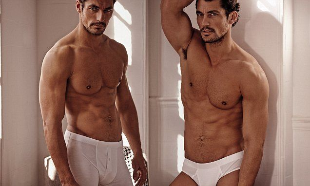 David Gandy launches début collection with M&S