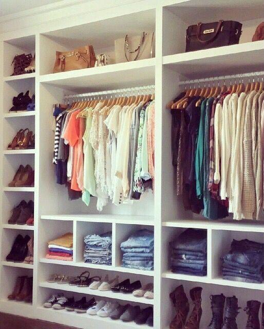 Photo of 30 schöne offene Schrank Ideen für anspruchsvolles Haus #closet #House #Ideas #Lovel …