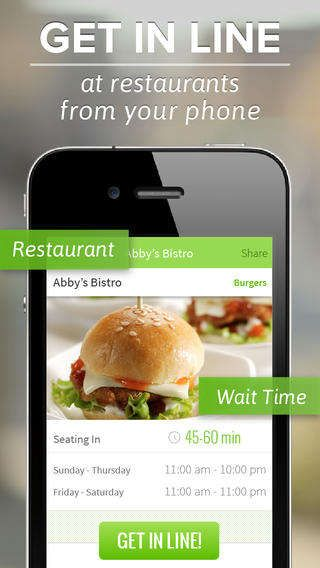 Our Virtual Restaurant Queue Lets You Locate Nearby Restaurants Virtually Put Yourself In Line And Check On Wait Times Don T Risk Waiting A Long Time