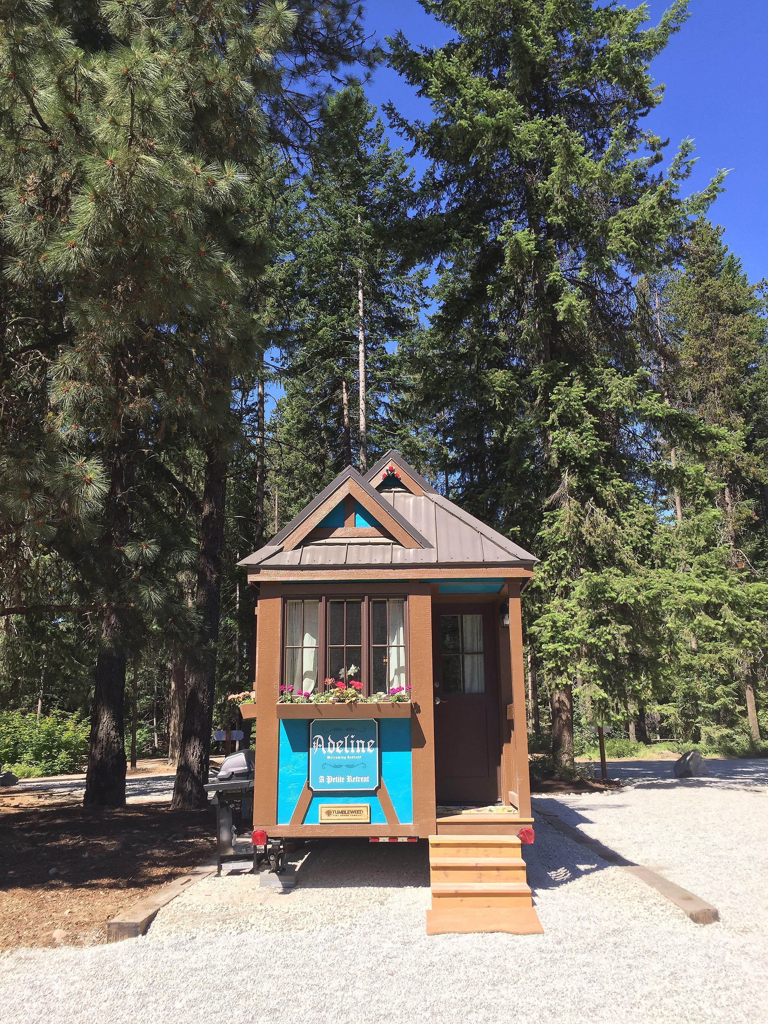 Meet Adeline At Leavenworth Tiny House Village In