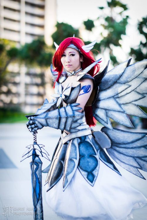 Submission Weekend Erza Scarlet In Heaven S Wheel Armor From