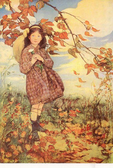 Jessie Wilcox Smith Art Will Smith Art Autumn Art