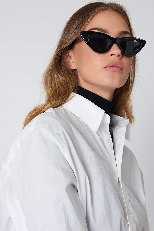 1daecc5aaa Na Kd Accessories Pointy Cat Eye Sunglasses
