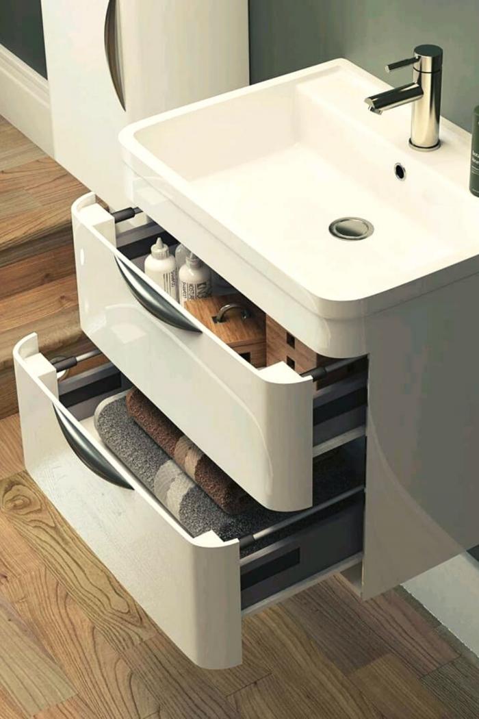 Interior Bathroom Storage Ideas