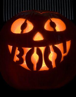 pumpkin template boo  ☆ BOO! Pumpkin Carving Art ☆ … | Halloween pumpkins ...