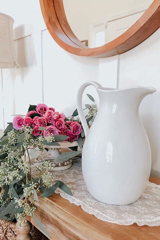 Better homes gardens porcelain pitcher