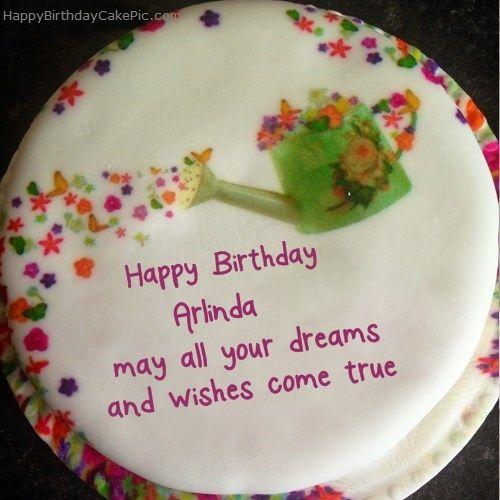 Write Name On Wish Birthday Cake