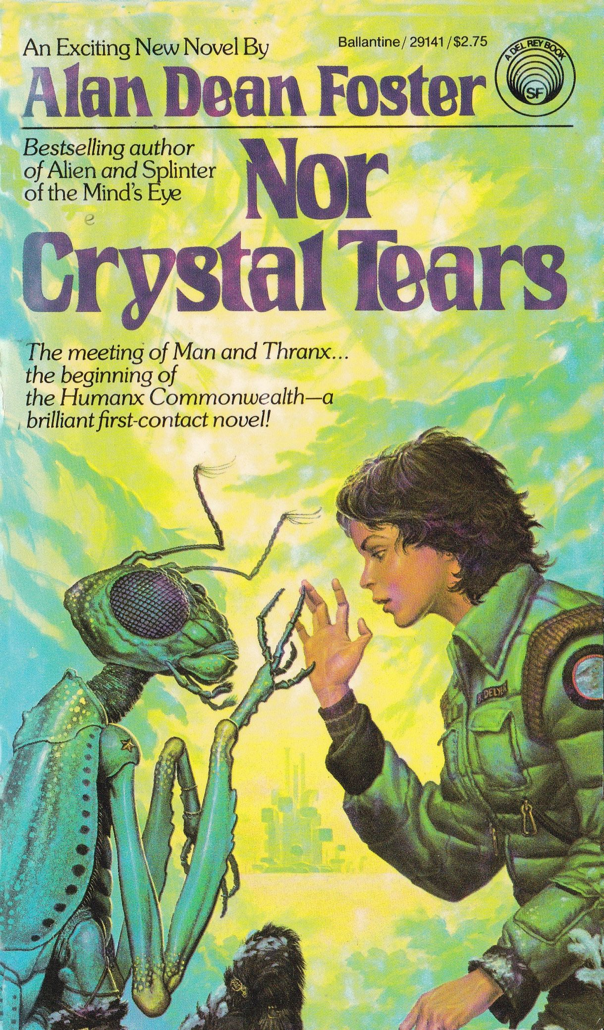 Alan Dean Foster Nor Crystal Tears Science Fiction Books