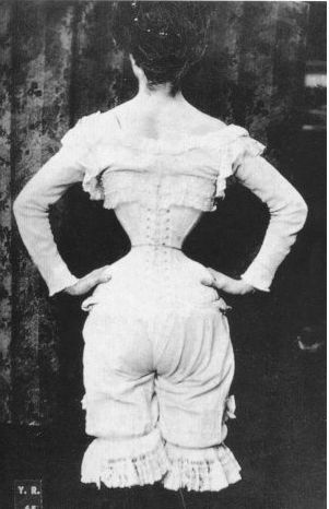 1880's effectof corsets  google search  gibson girl