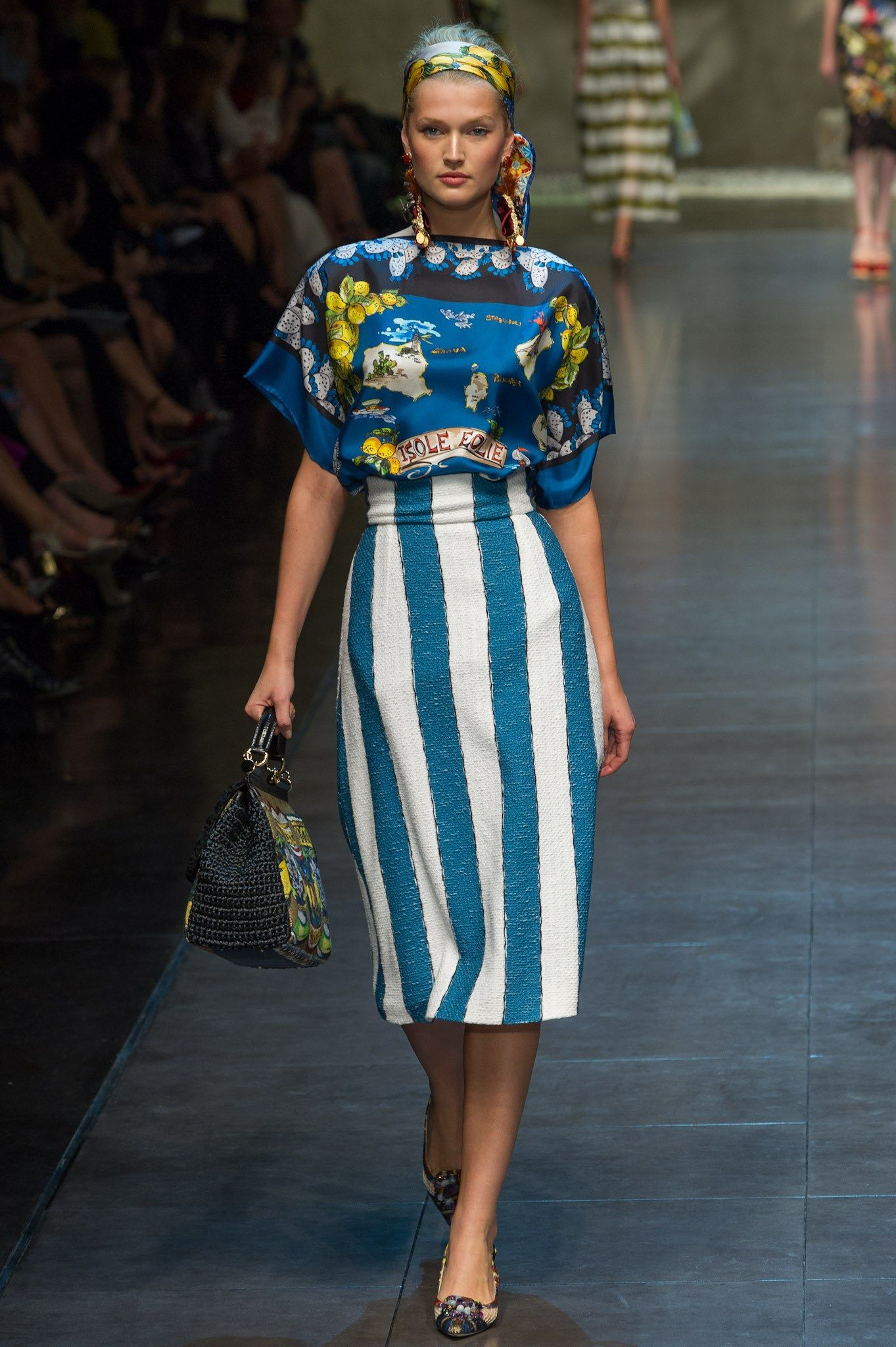 Dolce & Gabbana Spring 2013 Ready-to-Wear Fashion Show