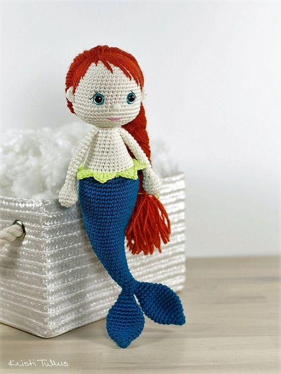 mermaid-pattern | amigurumis | Croché, Amigurumi y Ganchillo