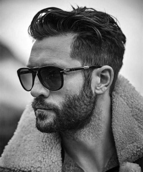 Hairstyles For Men With Thick Hair Simple 50 Men's Short Haircuts For Thick Hair  Masculine Hairstyles