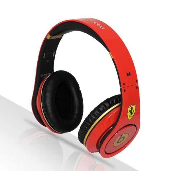Beats By Dr Dre Special Edition Studio Headphones From Monster Ferrari Red Buybeatsbydre Com Cheap Beats Studio Headphones Beats By Dre