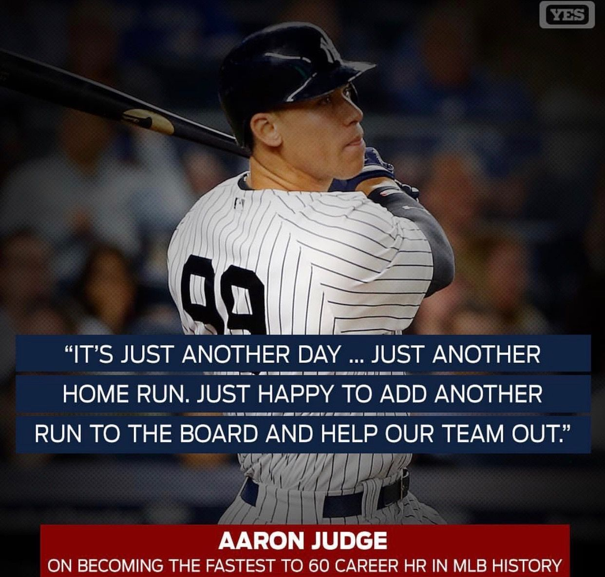 It S Always Team First With Aaron Yankees Baseball New York Yankees Ny Yankees