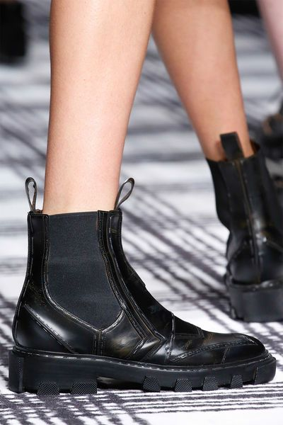 72d106176abad0 Slip-In-Boots Balenciaga Herbst Winter 2015