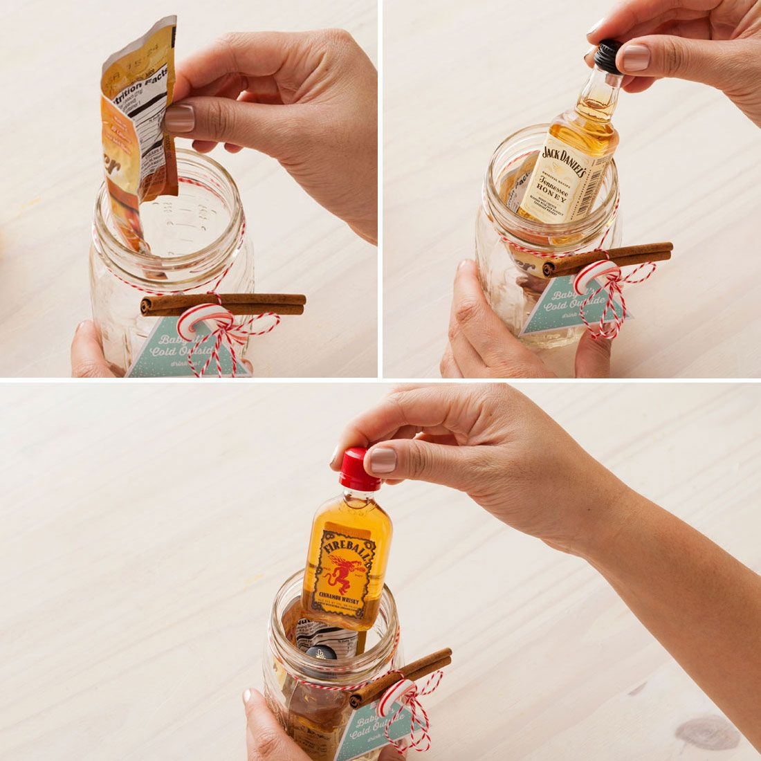 This Mason Jar Cocktail Is the Best Stocking Stuffer Idea for Adults #stockingstuffersforadults