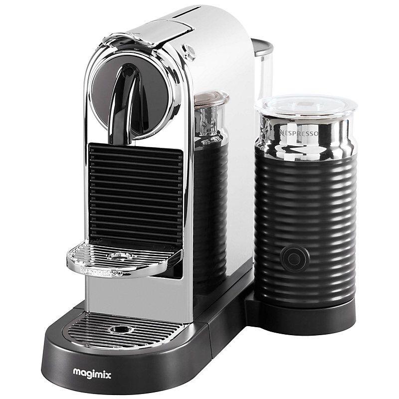 Nespresso CitiZ & Milk Coffee Machine by Magimix, Chrome ...
