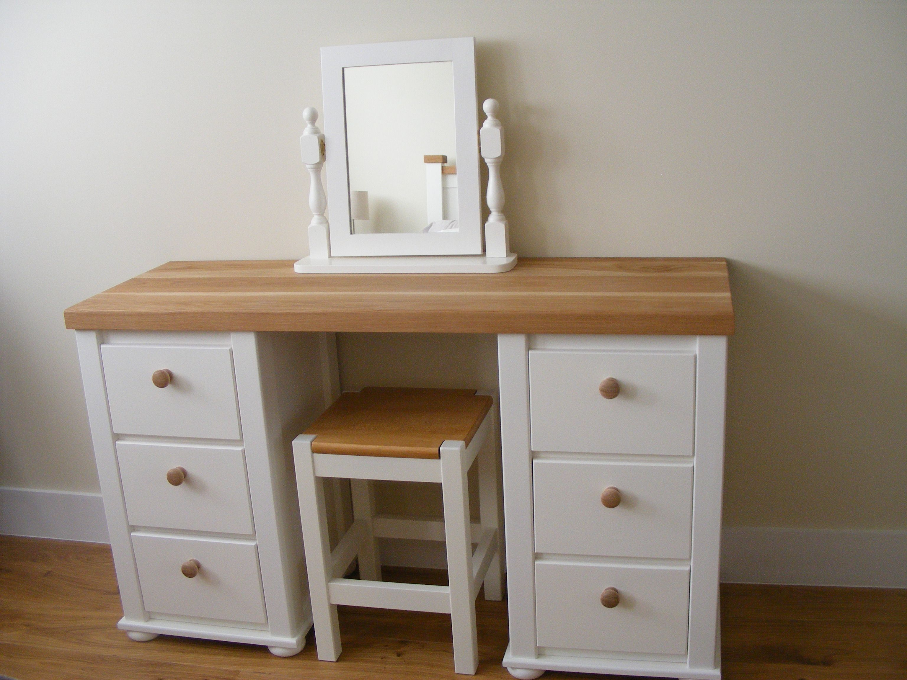 White And Solid Oak Dressing Table. Aspenn Furniture Make Bespoke Furniture  To Be The Perfect Addition To Your Home. We Only Use Solid Natural Pine Or  Oak ... Great Ideas
