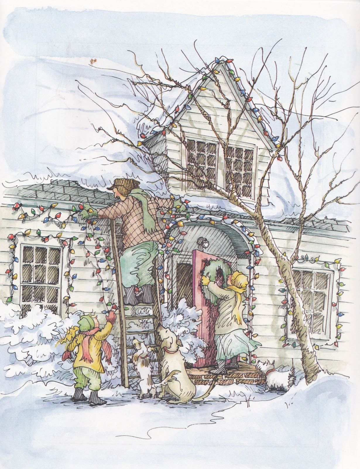 christmas in the country by cynthia rylant and diane goode - Christmas In The Country