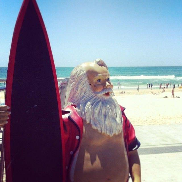 An Australian Christmas - Gold Coast surfing Santa | Take me