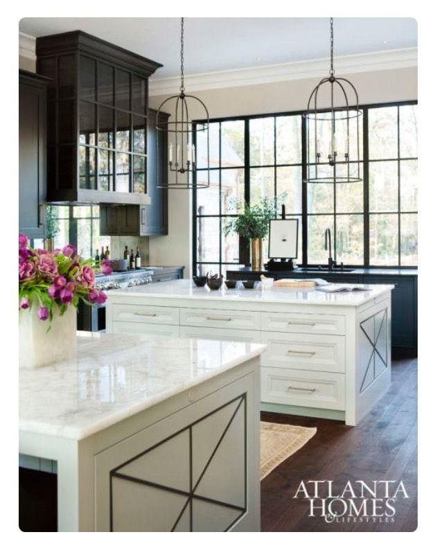 Pin de Brydie Lea en 10 HOME STUFFFF Pinterest Salon cocina - cocinas grandes de lujo