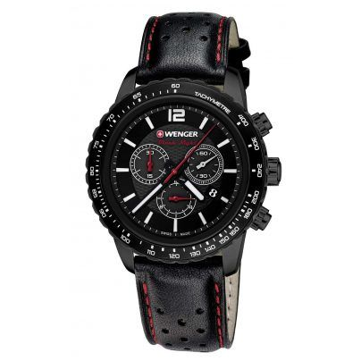 Wenger 01.0853.108 Roadster Black Night Chrono Herrenuhr