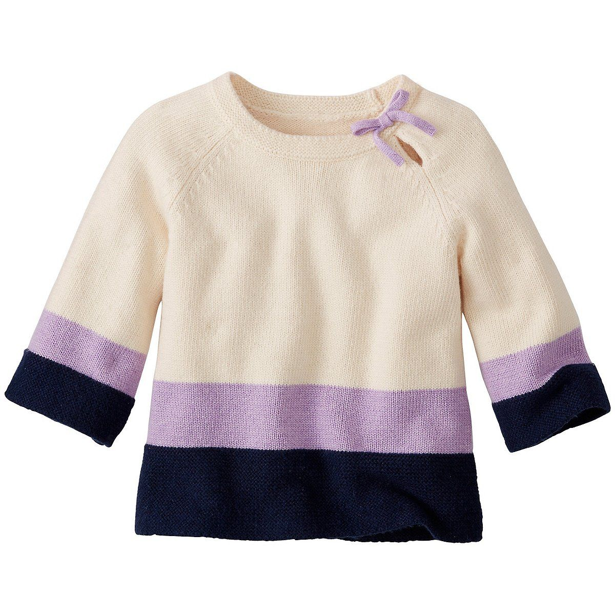 Lilac Layer Sweater by Hanna Andersson