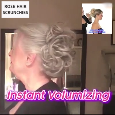With The Messy Rose Bun, Rock That Beaut - Hair Beauty
