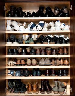 Mens Shoe Closet men's shoe closet! peter som | dream closet | pinterest