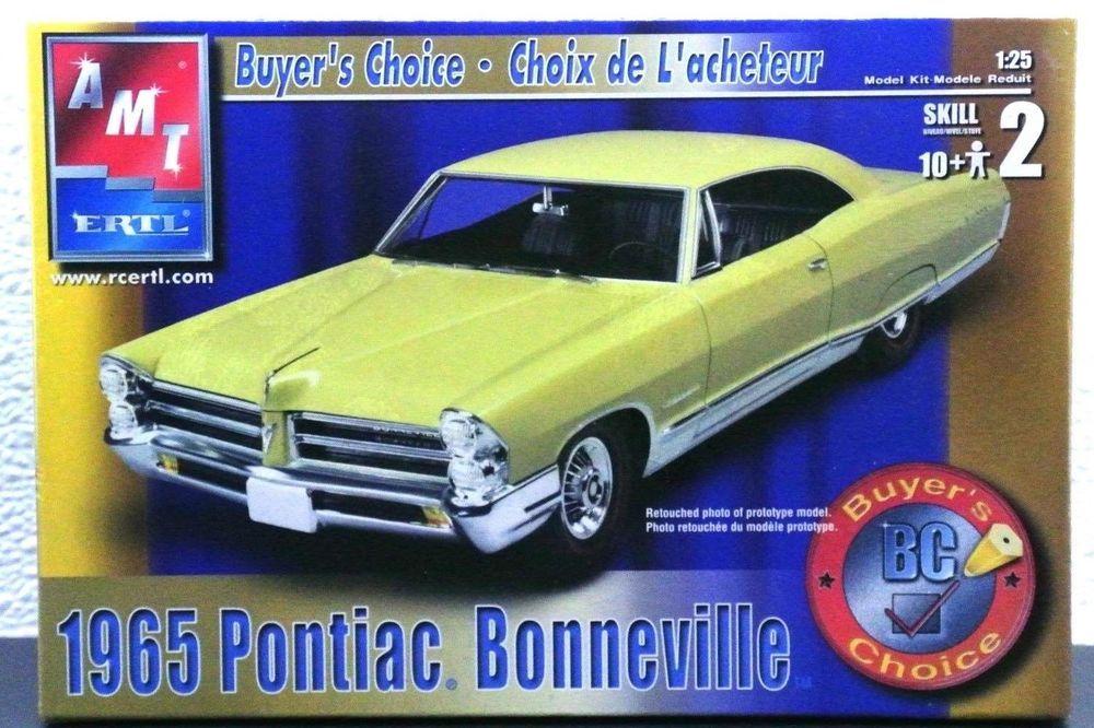 FACTORY SEALED '65 Pontiac Bonneville Buyer's Choice Car Kit AMT/Ertl 1/25 38174 #AMT