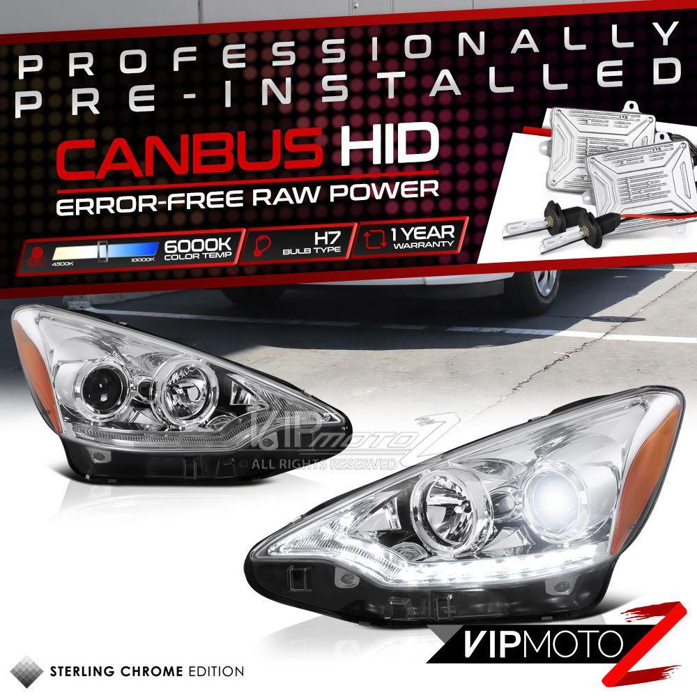prius c led headlights