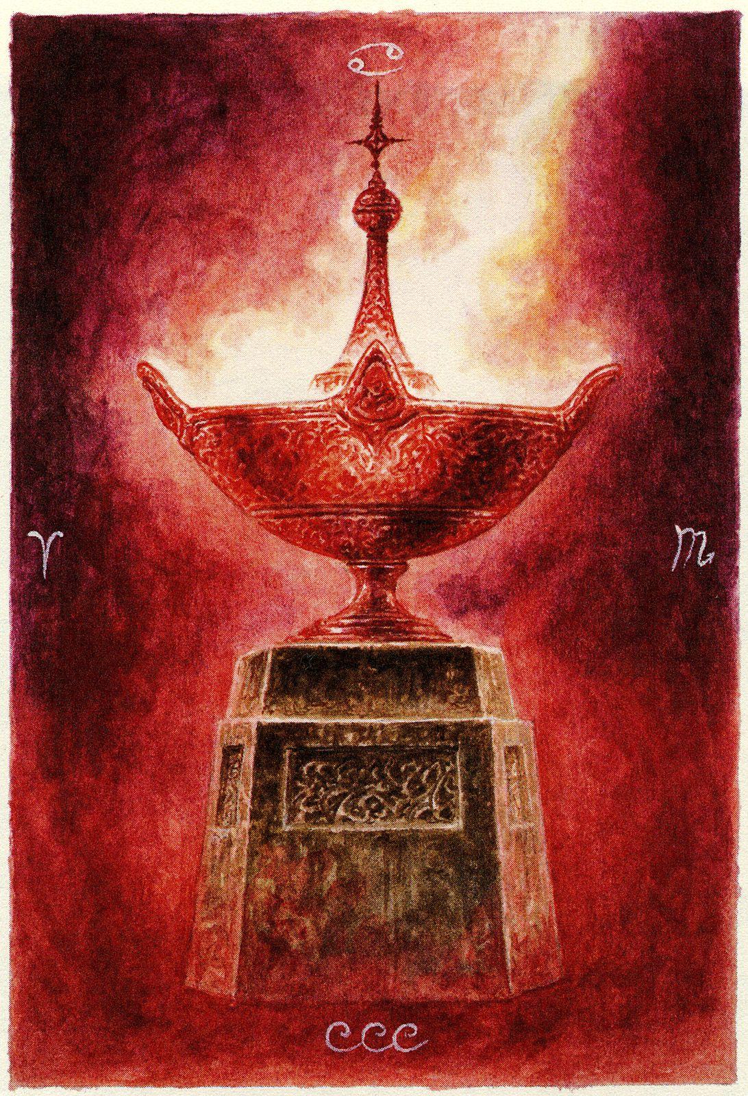 Luis Royo - The Labyrinth Tarot - Minor Arcana: Cups Human