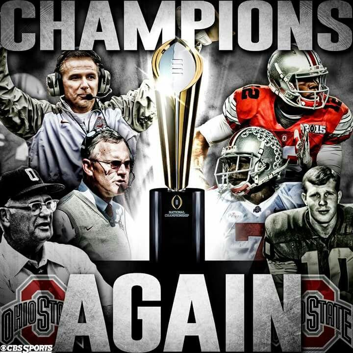 2015 NATIONAL CHAMPIONS! !! Ohio state buckeyes football