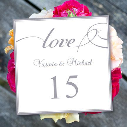 professionally designed diy printable tent style table number