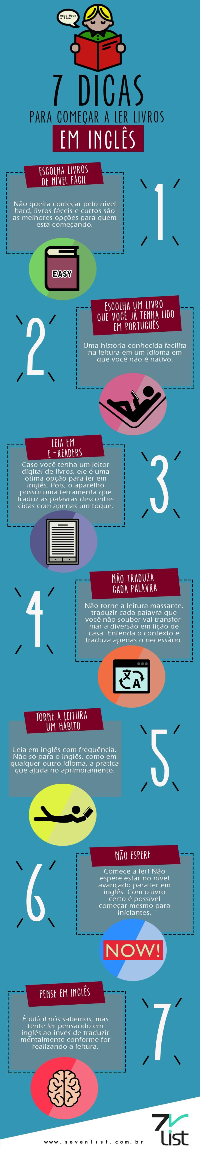7 Dicas Para Começar A Ler Livros Em Inglês                                                                                                                                                     Mais